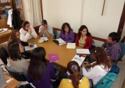 Reunión de referentes de la UNPA y la Subsecretaría de la Mujer