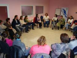 Reunión del equipo técnico de la UNPA y la Subsecretaría de la Mujer