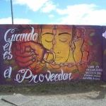 imagen del mural inaugurado